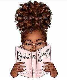 Black Girl Art, Black Women Art, Black Girl Magic, Art Girl, Black Cartoon, Cartoon Art, Lotus Art, Black Art Pictures, Wash N Go