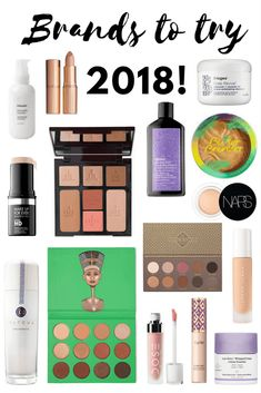Brands to try in 2018 - Makeup, haircare and skincare recommendations
