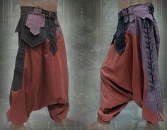 post apocalyptic steampunk harem pants