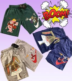 Get your limited Shorts today ! Best out Right now Short Outfits, Stylish Outfits, Stylish Clothes, Fashion Outfits, Japanese Show, Cartoon Crazy, Boyfriend Shorts, Outfit Grid, Unisex
