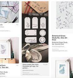 Free printable Christmas gift tags — Gooseberry Moon