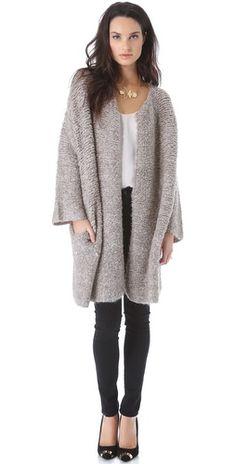 By Malene Birger Viggae Sweater Coat | SHOPBOP
