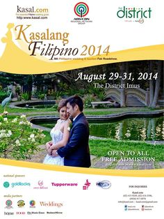 Filipino Wedding, Raffle Prizes, Free Admission, Wedding Fair, Exhibit, Amazing, Awesome, Don't Forget, Destination Wedding