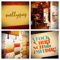 Nellypap - eine hübsche Papeterie in München Neuhausen. Postkarten, Brief- und Geschenkpapier, Notizbücher und viele andere schöne Dinge!