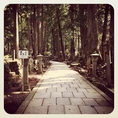 Okunoin Buddhist Cemetery, Koyasan, Mount Koya