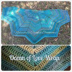 Ravelry: Ocean of Love Wrap pattern by Natasha Thorley free