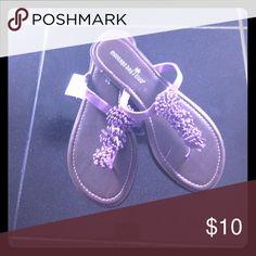 NEW ... Purple sandals Purple sandals Shoes Sandals