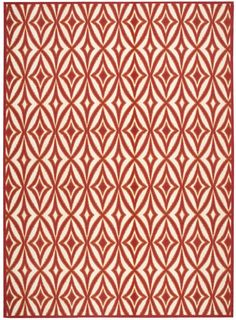 Sun and Shade Red Indoor/Outdoor Area Rug