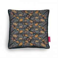 herbarium Cushion Ohh Deer, Forest Adventure, Gouache, Outdoor Blanket, Cushions, Illustrations, Gifts, Throw Pillows, Toss Pillows