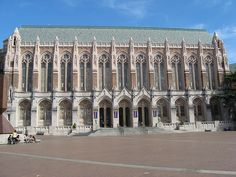 Suzzalo Library, University of Washington