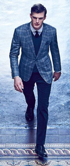 Pal Zileri Autunno Inverno 2014 2015   Men's Fashion   Men's Apparel   Men's Outfit   Business Style   Shop at designerclothingfans.com