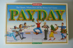 Pay Day Board Game by Waddingtons | Retroactive Vintage Games