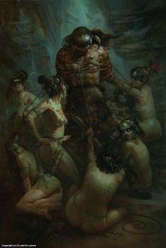 Conan the Conquered Artwork by patrick jones