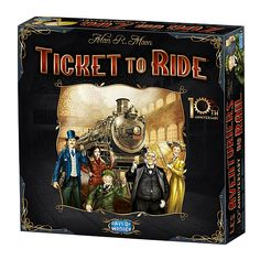 Ticket To Ride 10th Anniversary Limited Edition