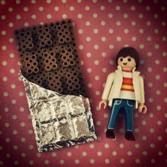 3D Chocolate perler beads by tomochintomochin