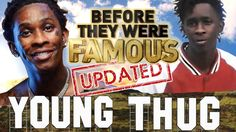 YOUNG THUG - Before They Were Famous  Young Thug Before They Were Famous. Before Young Thug would drop his mixtape Jeffery. Before Young Thug signed with Cash Money and formed his own imprint label YSL Records. Before he would pose in dresses and confuse the world by refering to his rapper friends as his lovers and hubbies.  http://www.hiphopdugout.com/videos/young-thug-before-they-were-famous