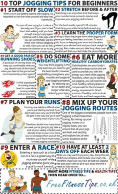 Top 10 Jogging Tips For Beginners