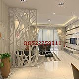 Modern branches hollow carved panels off the entrance door MDF carved hollow plaid flower- plate screen