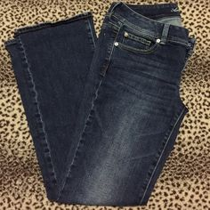 American Eagle slim boot cut jeans NWOT.... Never worn, American eagle slim boot cut jeans. Dark blue, size 10 American Eagle Outfitters Jeans Boot Cut