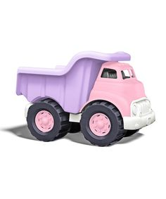 Love this Pink & Purple Dump Truck by Green Toys on #zulily! #zulilyfinds