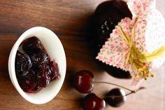 Przetwory z wiśni i czereśni | Czereśnie i wiśnie z kwiatami lipy