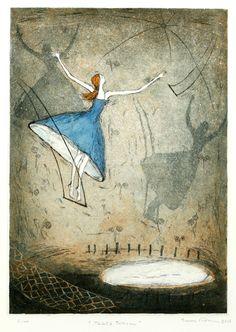 Emmi Vuorinen: Täältä tullaan Sweet Memes, Water Lilies, Gravure, Artsy Fartsy, Wonders Of The World, Finland, Art Girl, Printmaking, Surrealism