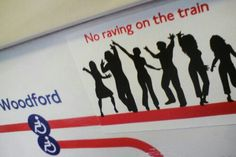 stickerbombin' the tube-central line