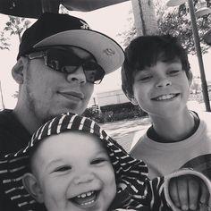 My son Kendrix and carson at Disney