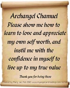 Ask Archangel Chamuel For More Love In Your Life! Click pic for more info