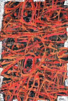 Jean Dubuffet (French best known for founding the art movement 'Art Brut' Contemporary Wall Art, Modern Art, Abstract Expressionism, Abstract Art, Art Informel, Hirshhorn Museum, Jean Dubuffet, Art Brut, Graffiti