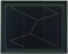 "Josef Albers, Structural Constellation ""To Ferdinand Hodler,""1954. Incised vinyl acetate resin on wood, 17 1/4 x 22 1/2"""