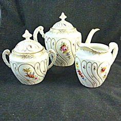 Dresden 3 Piece Tea Set.