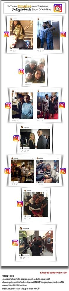 10 Times Empire Was The Most Instagrammable TV Show Of All-Time [Infographic]…