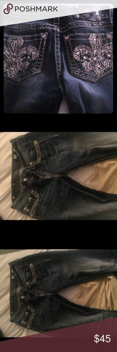 Miss me jeans Size 26. Inseem 33. Miss me jeans. Worn once. From buckle. Boot cut. Miss Me Jeans Boot Cut