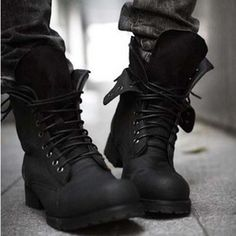 I would kill for these Dior homme biker boots *THESE boots are dope-er. - mens shoes and boots, best mens shoes, mens black dress shoes Black Shoes, All Black Sneakers, Gold Shoes, Black Timberlands, Black Loafers, Moda Punk, Shoe Boots, Ankle Boots, Dress Boots