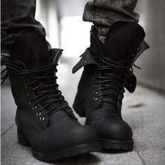 En el invierno llevo las botas
