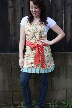 Gorgeous and easy apron