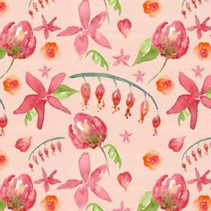 Dawn Critchley - Bridie | Make it in Design | Module 3 - Monetising your designs | The Art and Business of Surface Pattern Design | Pattern Design Showcase | September 2015