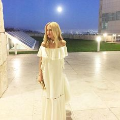 Perfect night under the full moon wearing my spring 2016 collection