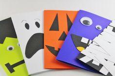 Handmade Halloween Cards...halloween gift tags by katemaedesigns