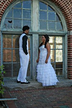 Here's a cute idea for a prom or wedding picture. This is me and my best guy friend at prom, and is my favorite picture!