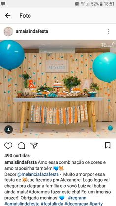 Trendy birthday decorations for men table baby shower ideas Baby Shower Prizes, Baby Shower Gender Reveal, Baby Shower Themes, Baby Boy Shower, Baby Shower Decorations, Shower Ideas, Birthday Table, Baby First Birthday, 1st Birthday Parties