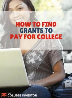 to Find Grants to Pay For College Affording college is not always the easiest. Grants can make that job much easier! Here's how to find them!Affording college is not always the easiest. Grants can make that job much easier! Here's how to find them! Grants For College, Financial Aid For College, College Planning, Online College, Scholarships For College, College Hacks, Education College, College Life, College Students