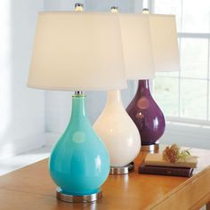 I Want The Teal Lamp Purple LampThe PurpleLiving Room