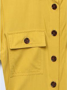 Khost Clothing midi shirt dress Midi Shirt Dress, Midi Dresses, Spirit Clothing, Dress Images, Dress Shirts For Women, Yellow Dress, Clothing Ideas, Fashion Brand, Khaki Pants