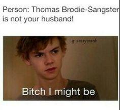 Thomas Sangster.