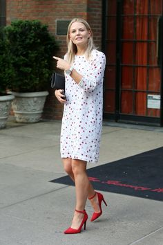 Jennifer Morrison spotted at the Bowery Hotel in N.Y.C on June 10, 2015.
