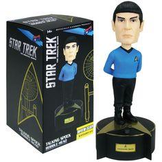 Star Trek: The Original Series Talking Spock Bobble Head