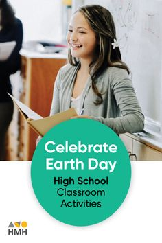 At HMH The Learning Company, we believe It's important that minds of all ages honor Earth Day. Here's a list of activities that teachers and educators can incorporate in their high school classrooms. Earth Day Activities, List Of Activities, Science Resources, Learning Resources, Classroom Activities, High School Classroom, High School Students, Environmental Science Projects