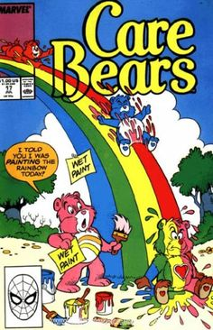 Care Bears Marvel/Star Comics) 17 - Movie And Comic Cartoon Posters, Retro Cartoons, Vintage Cartoon, Vintage Comics, Vintage Disney Posters, Vintage Music Posters, Bedroom Wall Collage, Photo Wall Collage, Retro Wallpaper
